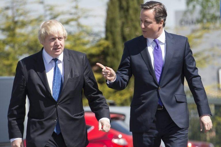 Ο Κάμερον αποκαλύπτει: Ο Τζόνσον πίστευε ότι «το Brexit θα συντριβεί» στο δημοψήφισμα του 2016