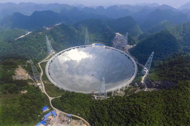 Από σήμερα λειτουργεί επίσημα το «Μάτι του Ουρανού», το μεγαλύτερο ραδιοτηλεσκόπιο στον κόσμο