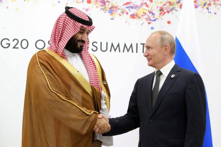Επενδύσεις στη Σαουδική Αραβία εξετάζει η Ρωσία- Επίσκεψη Πούτιν στο Ριάντ