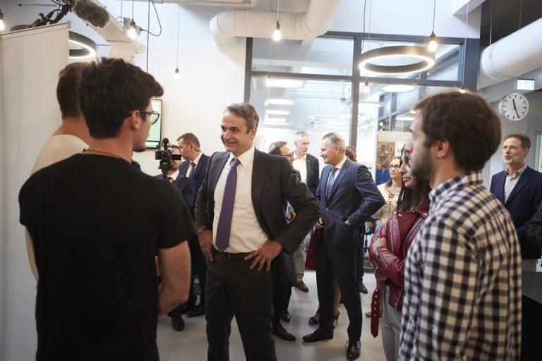 Στο Ινστιτούτο Brainport του Αϊντχόβεν για συμπράξεις υψηλής τεχνολογίας ο Κυρ. Μητσοτάκης