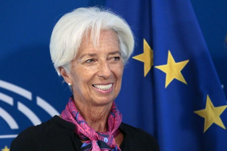 Το στίγμα της ως νέα πρόεδρος της ΕΚΤ έδωσε η Λαγκάρντ