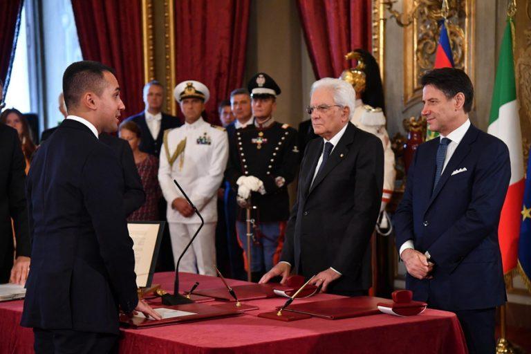 Ορκίστηκε η ιταλική φιλοευρωπαϊκή κυβέρνηση