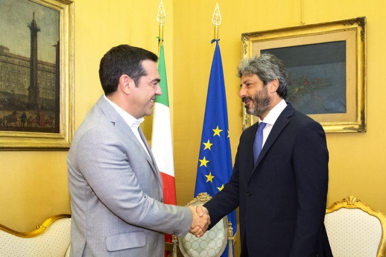 Οικονομία, προσφυγικό και Brexit στην ατζέντα των συναντήσεων Τσίπρα με κορυφαίους Ιταλούς πολιτικούς