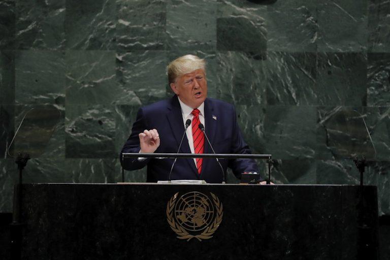 Κάλεσμα Τραμπ υπέρ του «πατριωτισμού» και κατά της παγκοσμιοποίησης