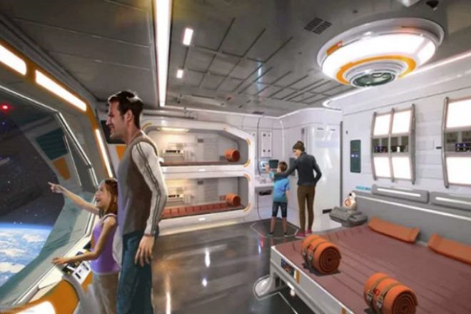 Ανακαλύψτε το ξενοδοχείο «Star Wars: Galactic Cruiser» της Disney