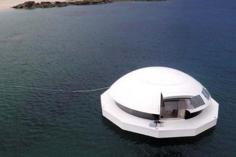 Anthenea: Ένα πλωτό παλάτι με θέα τον βυθό της θάλασσας