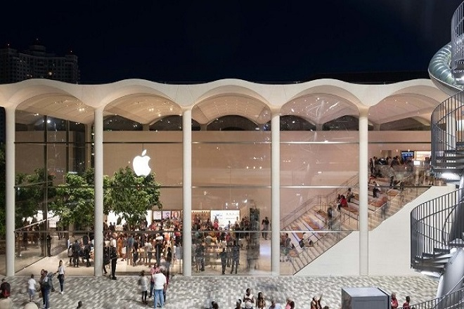 «Apple Aventura», το εντυπωσιακό νέο κατάστημα της εταιρείας στο Μαϊάμι (Βίντεο)