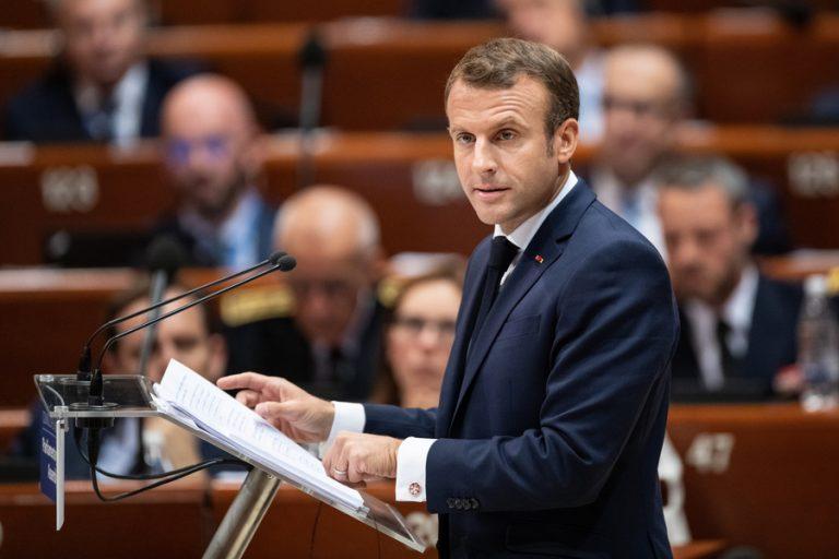 Έκκληση Μακρόν για την ενδυνάμωση της Ευρώπης απέναντι στην «επιστροφή των μεγάλων φόβων»