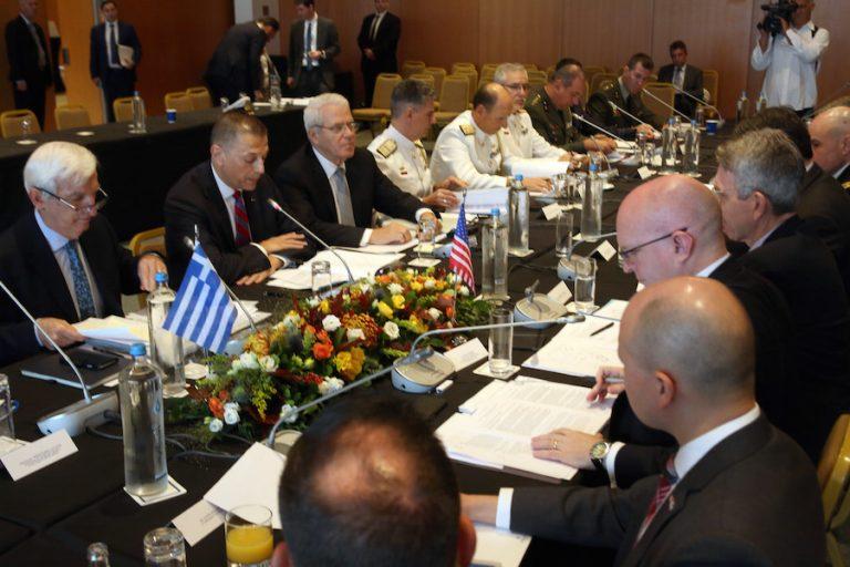 Γεωργιάδης: Θα έχουμε διαρκή αμερικανική στρατιωτική παρουσία στην Ελλάδα