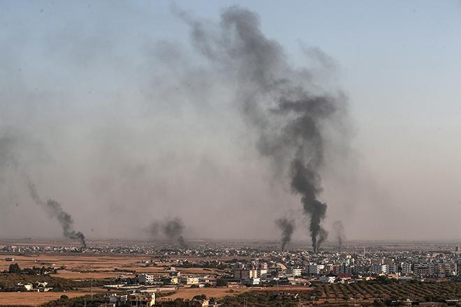 Σε πλήρη εξέλιξη η τουρκική επίθεση στη ΒΑ Συρία – Τραμπ: «Η Τουρκία σχεδίαζε για πολύ καιρό να επιτεθεί στους Κούρδους»