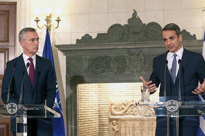 Μητσοτάκης: «Η Ελλάδα καταδικάζει την παραβίαση συνόρων και Συνθηκών» – Αυτοσυγκράτηση συνέστησε στην Τουρκία ο Γενς Στόλτενμπεργκ