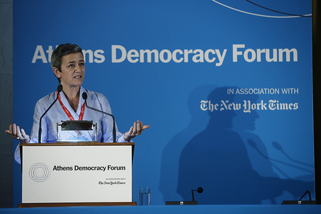 Μ. Βεστάγκερ: «Έχω μεγάλες προσδοκίες για την Ελλάδα, τη συνδεσιμότητα και τον ψηφιακό εκσυγχρονισμό του κράτους»