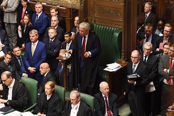 «Πόρτα» στον Τζόνσον από τον πρόεδρο της βρετανικής Βουλής: Δεν θα τεθεί σε ψηφοφορία η συμφωνία για το Brexit