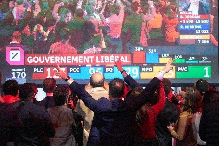 Ο Τριντό κερδίζει τις εκλογές αλλά με μειοψηφία- Τα συγχαρητήρια του Τραμπ