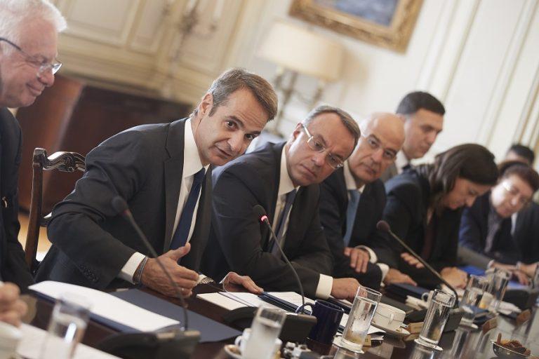 Τι είπε στο υπουργικό ο Κυρ. Μητσοτάκης για ψήφο αποδήμων και ΔΕΗ