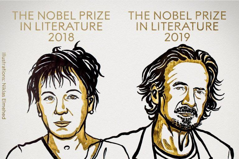 Τα δυο Νόμπελ Λογοτεχνίας στους συγγραφείς Πέτερ Χάντκε και Όλγκα Τοκάρτσουκ