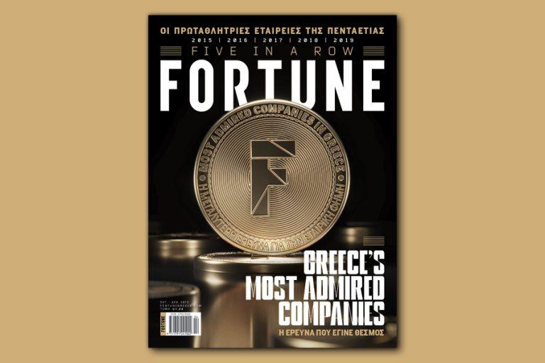 Most Admired Companies 2019: Οι πιο αξιοθαύμαστες εταιρείες είναι στο νέο τεύχος του Fortune