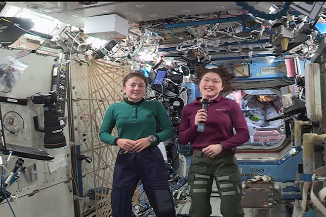 Βόλτα στο διάστημα μόνο για γυναίκες στις 21 Οκτωβρίου