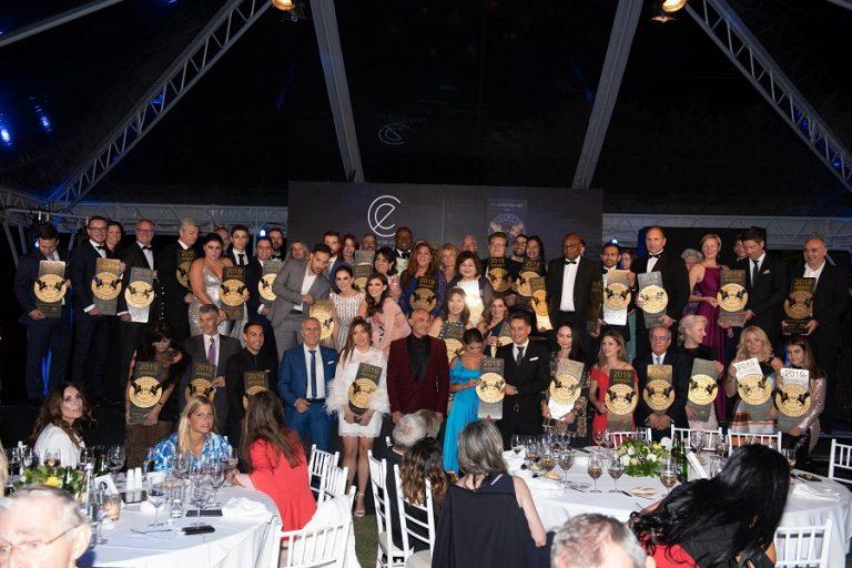 Το Ecali Club διοργάνωσε τα «Seven Stars Luxury, Hospitality and Lifestyle Awards» στη Λίμνη Βουλιαγμένης
