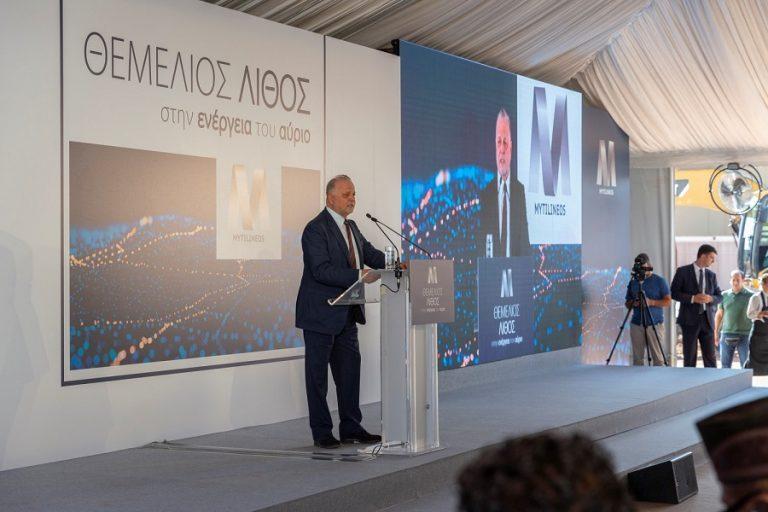 Θεμελιώθηκε η νέα επένδυση 300 εκατ. της MYTILINEOS στον σταθμό παραγωγής ρεύματος