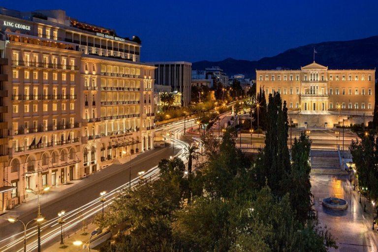 Τα δέκα καλύτερα ξενοδοχεία για επαγγελματικά ταξίδια στην Αθήνα