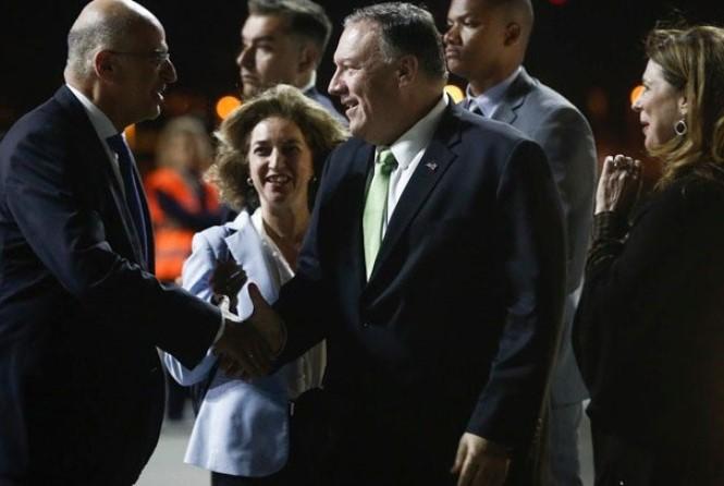 Επίσκεψη Πομπέο στην Αθήνα: Με «ταχύτατους ρυθμούς» προχωρά η συμμαχική σχέση Ελλάδας-ΗΠΑ
