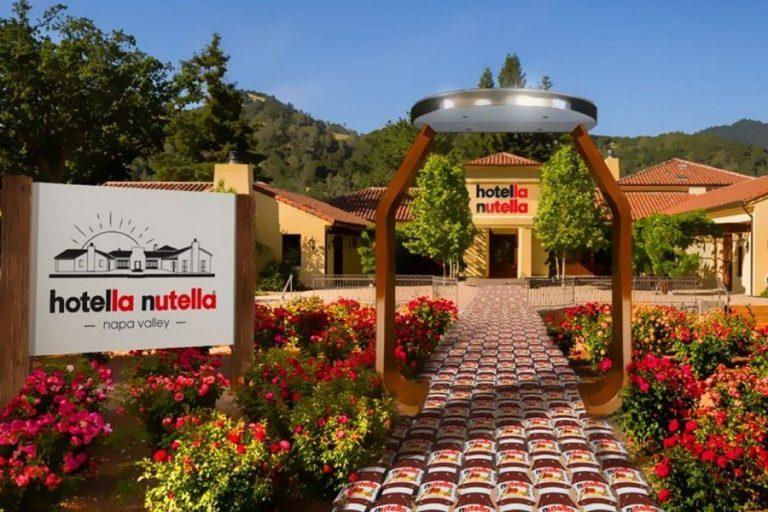 Η Nutella τώρα και σε… ξενοδοχείο