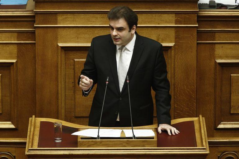 Πιερρακάκης: Άγονη και στείρα η πρόταση μομφής ΣΥΡΙΖΑ κατά Σταϊκούρα