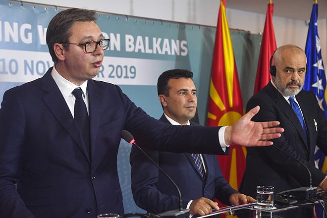 Σερβία-Αλβανία-Βόρεια Μακεδονία: Προχωρά η δημιουργία της «μικρής Σένγκεν»