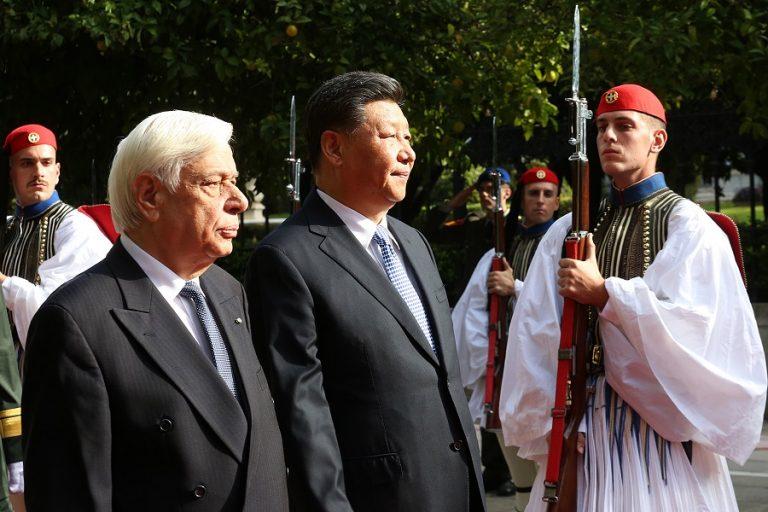 Νέα εποχή στις σχέσεις Ελλάδας-Κίνας αναγγέλει ο Σι Τζινπίνγκ στις συναντήσεις με Παυλόπουλο και Μητσοτάκη
