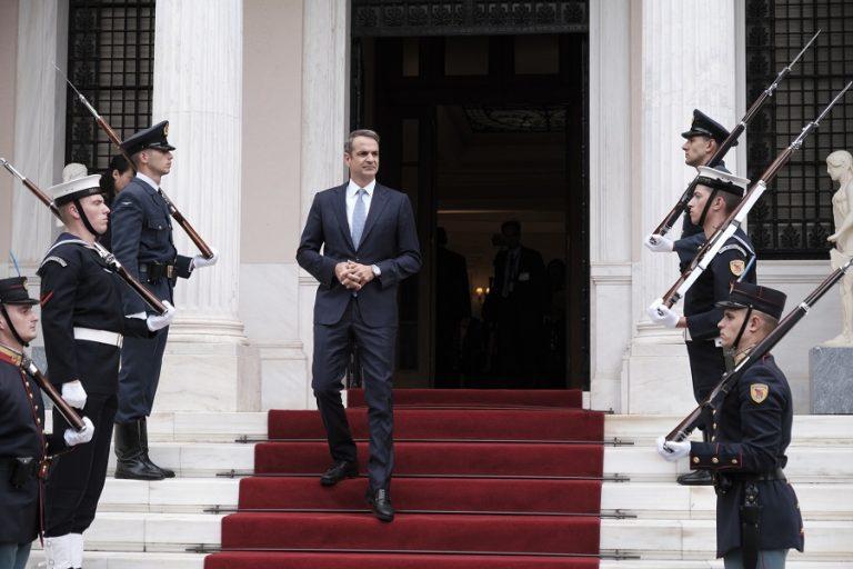 Τι θα συζητήσει ο Κυριάκος Μητσοτάκης με τους πολιτικούς αρχηγούς