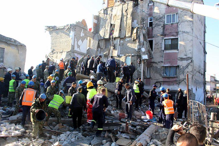 Νέος μετασεισμός 5,1 Ρίχτερ στην Αλβανία – Συνεχίζονται οι προσπάθειες απεγκλωβισμού