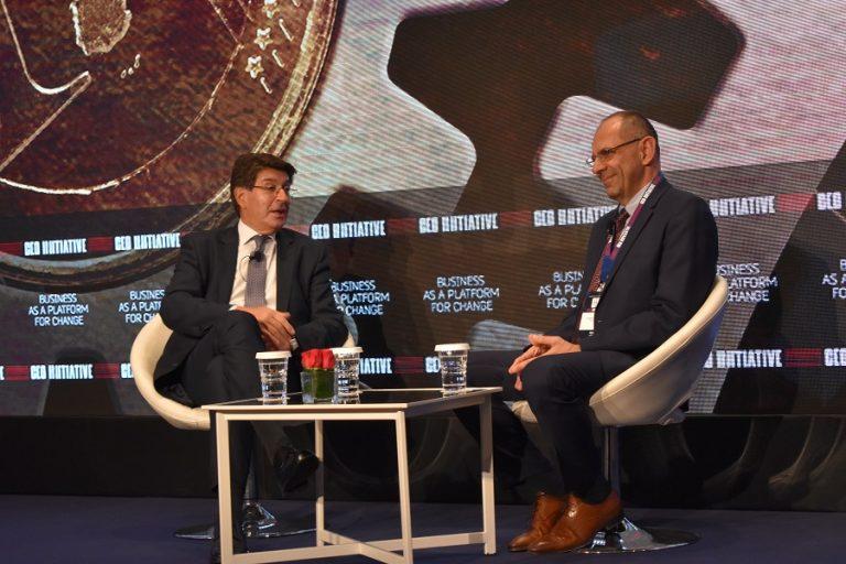 CEO Initiative Forum: Πως είδαν μια οικονομία που λειτουργεί για όλους Φέσσας και Γεραπετρίτης
