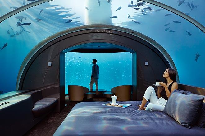 Υποβρύχιες διακοπές προσφέρει νέο υποθαλάσσιο resort στις Μαλδίβες