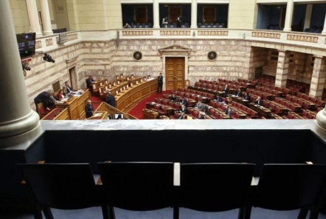 Live: Η συζήτηση για τον προϋπολογισμό στη Βουλή