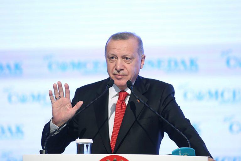 O Ερντογάν επιμένει στη ρητορική της «Γαλάζιας Πατρίδας»