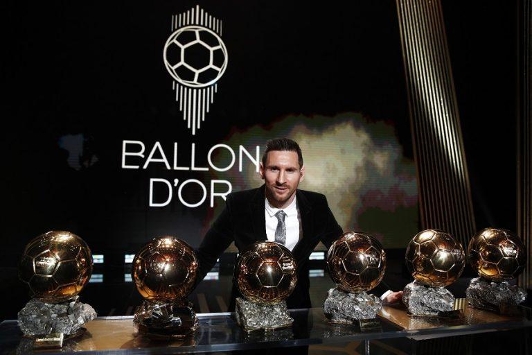 Την 6η «Χρυσή Μπάλα» της καριέρας του κατέκτησε ο Λιονέλ Μέσι