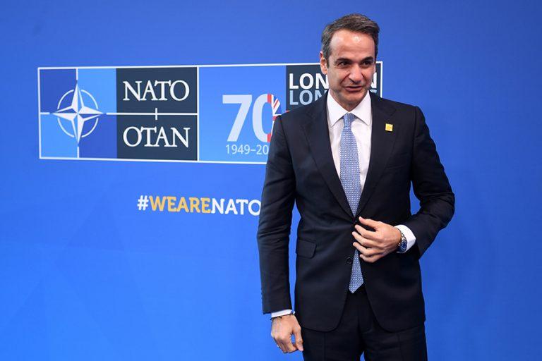 Παρέμβαση Μητσοτάκη στη Σύνοδο του ΝΑΤΟ: Η συμφωνία Τουρκίας – Λιβύης παραβιάζει το διεθνές δίκαιο