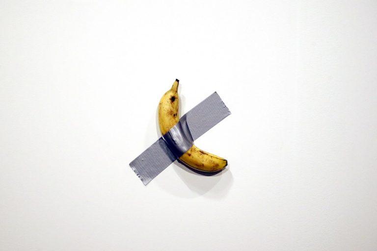 Η διάσημη «Μπανάνα» του Κατελάν βρίσκεται τώρα στο Guggenheim Museum