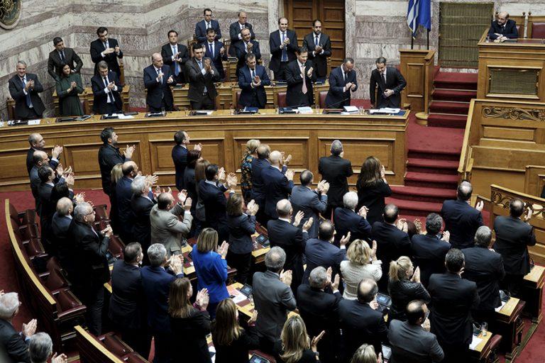 Υπερψηφίστηκε με 158 «ναι» ο προϋπολογισμός του 2020