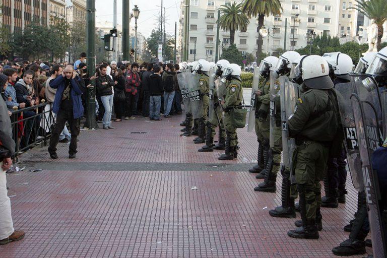 Δρακόντεια μέτρα ασφαλείας στην Αθήνα για την επέτειο της δολοφονίας Γρηγορόπουλου