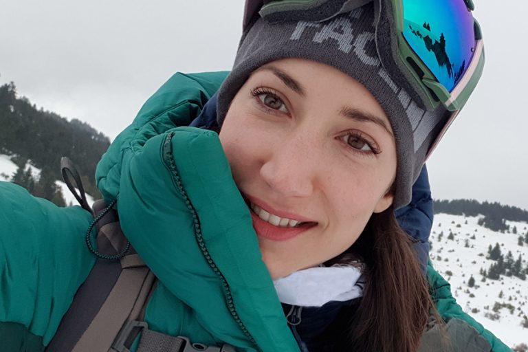 Χριστίνα Φλαμπούρη: Η αλπινίστρια που πάτησε την κορυφή του Έβρεστ ετοιμάζεται για το υπέρτατο ορειβατικό project.
