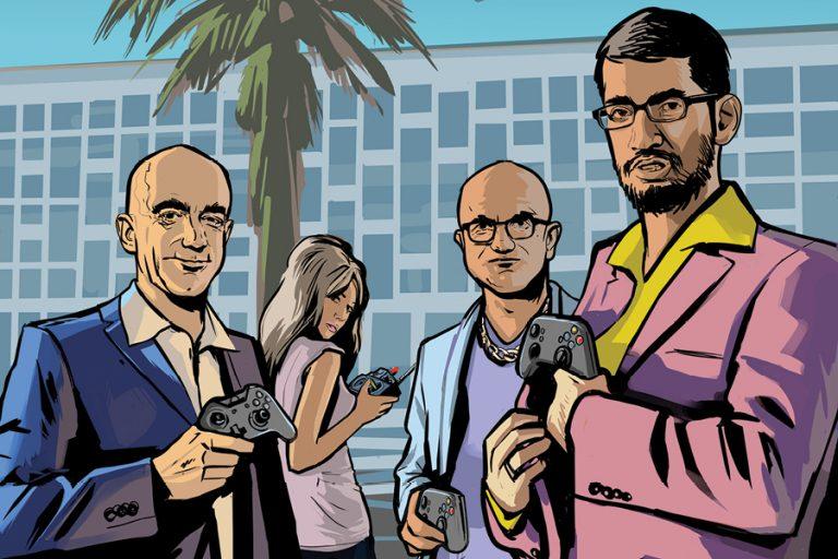 Το cloud gaming είναι το νέο πεδίο μάχης των μεγάλων εταιρειών τεχνολογίας