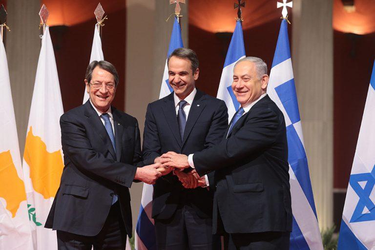Εγκρίθηκε από το κυπριακό υπουργικό συμβούλιο η συμφωνία Ελλάδας-Κύπρου-Ισραήλ για τον αγωγό EastMed