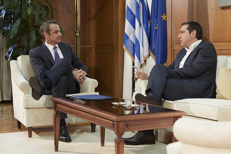 Στις 16 μονάδες η διαφορά της ΝΔ έναντι του ΣΥΡΙΖΑ- Οι δημοφιλέστεροι πολιτικοί