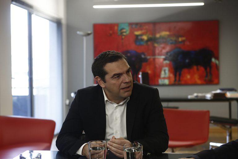 Ο Αλέξης Τσίπρας ανακοινώνει τη στάση του για την υποψηφιότητα Σακελλαροπούλου