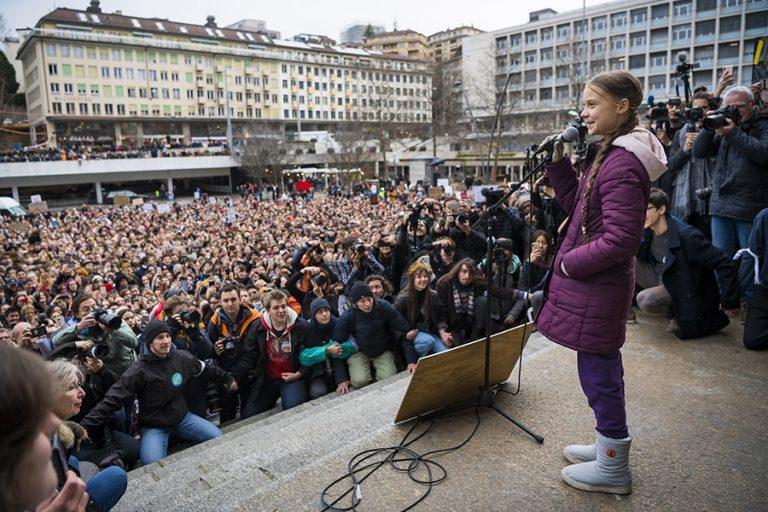 Η γνωστή Γκρέτα Τούνμπεργκ ανέλαβε δράση ενόψει του φετινού Νταβός