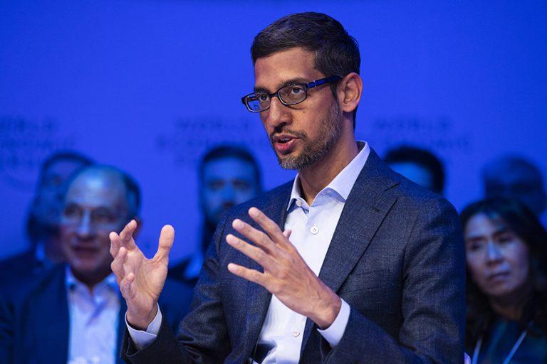 CEO της Google: Η καταπολέμηση της κλιματικής αλλαγής πρέπει να ξεκινήσει τώρα