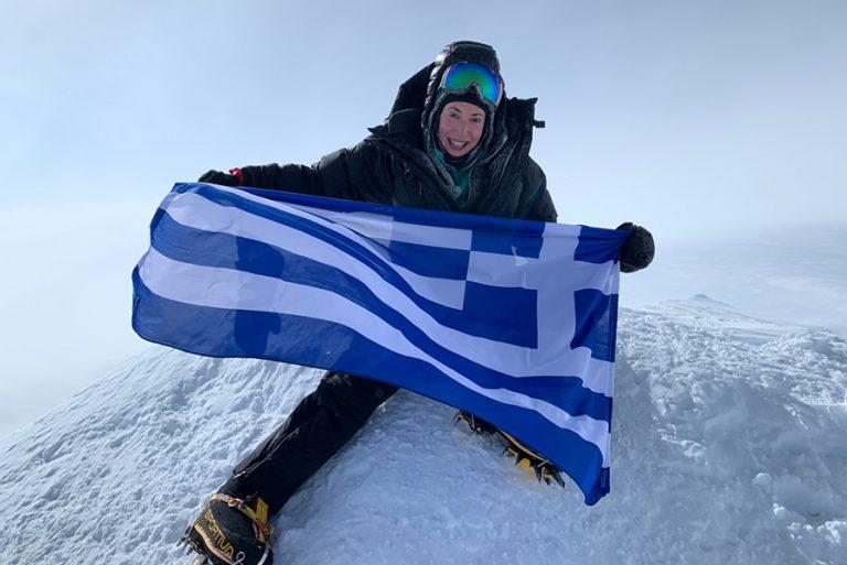 H Χριστίνα Φλαμπούρη έγινε η πρώτη Ελληνίδα που πετυχαίνει το «7 Summits»