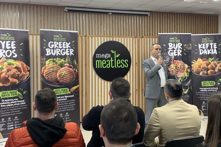 Megas Yeeros: Καινοτομεί παράγοντας meatless γύρο χωρίς… γλουτένη και σόγια